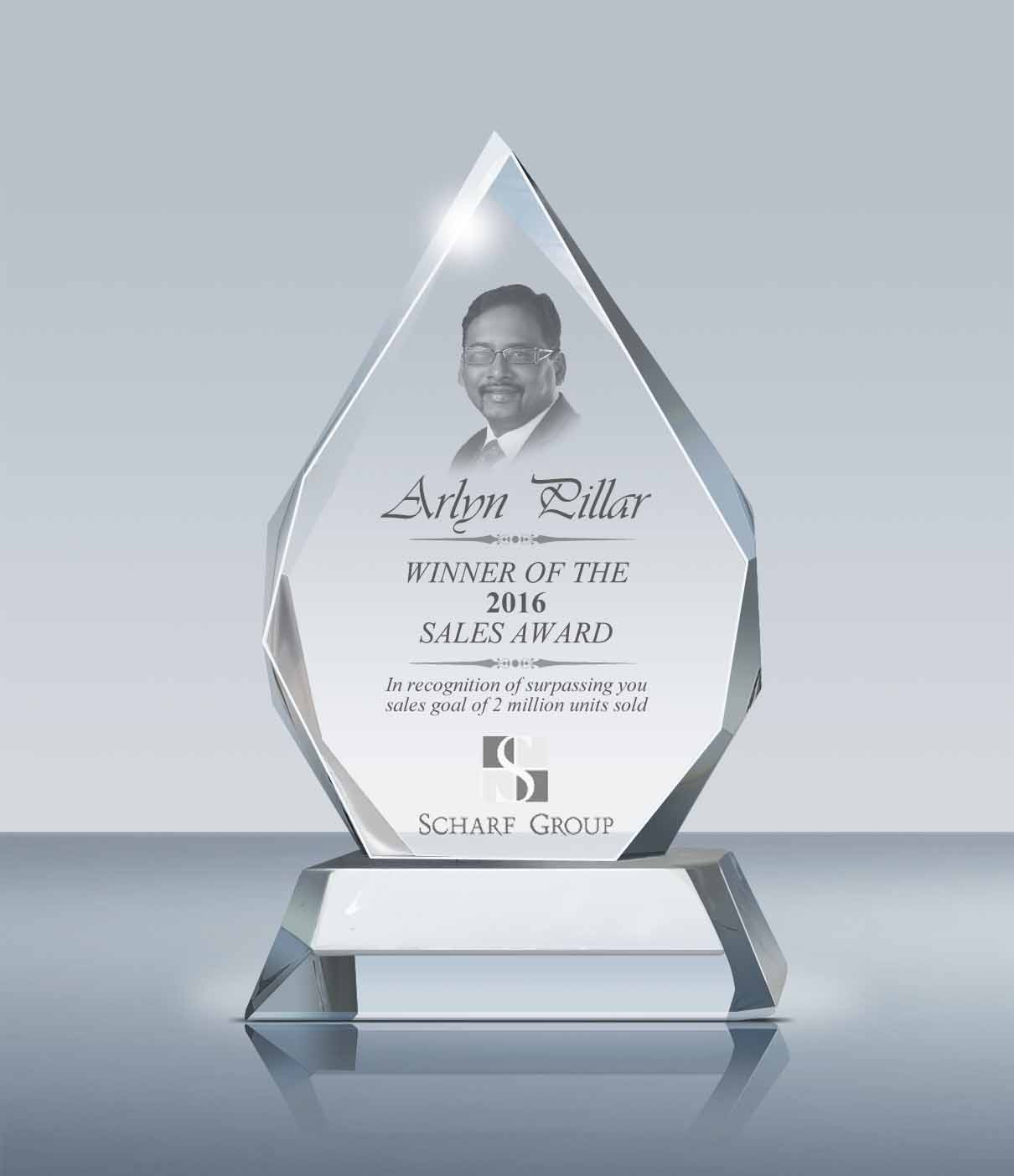Best Sales: Crystal Majestic Award (006